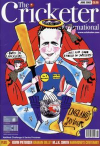 June Cover of the Cricketer International Magazine