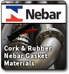 NEBAR Cork and Rubber Gasket Material