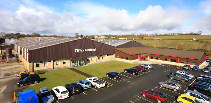 Tiflex site in Liskeard Cornwall